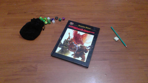 Monstrous Manual, black cover (2nd Edition)