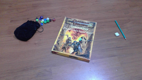 Dungeons & Dragons Adventure game - The adventure begins here! (3rd Edition)