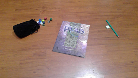 Ptolus: A Player's Guide to Ptolus (3rd Edition) Sword & Sorcery