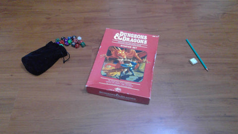 Dungeons & Dragons Fantasy Roleplaying Game – Starter Set 4th Edition