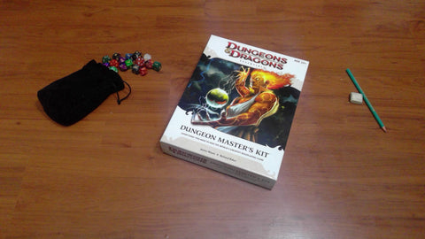 Dungeon Master's Kit - 4th Edition