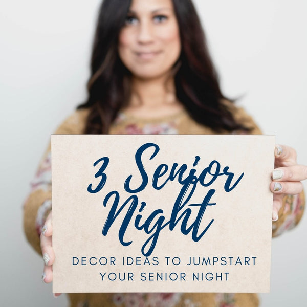 Winter Senior Night Preparations: 3 Decor Ideas to Jumpstart Your Creativity