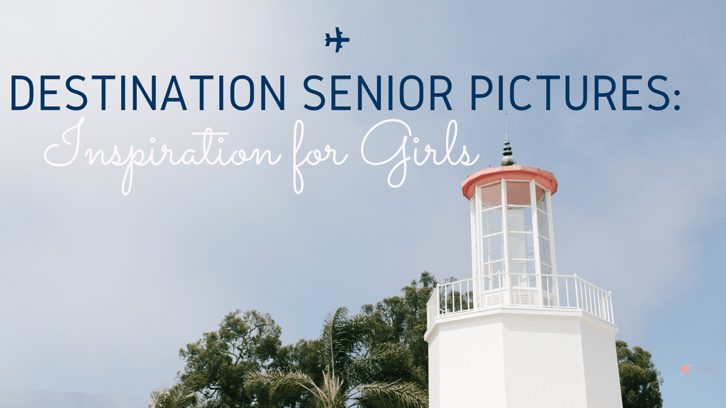 Destination Senior Picture Inspiration Curated by CollageandWood.com
