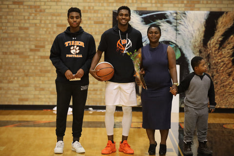 Family Senior Night Photo, curated by Collageandwood.com