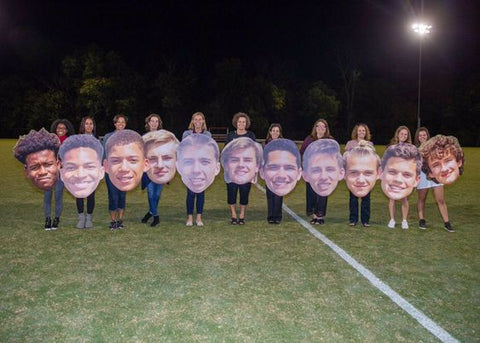 Senior Night Big Heads