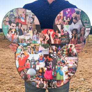Giant Vacation Collage, Disney Vacation Collage, Giant Memory Maker Photo Collage - collageandwood