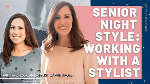 Crystal Waddell and Carrie Hagee, Senior Night Style Series