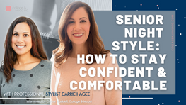 Crystal Waddell and Carrie Hagee Talk Senior Night Style For Moms