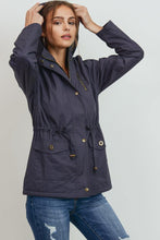 Load image into Gallery viewer, Anorak Jacket with Faux Fur Lining - GREY MARKET