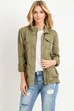 Load image into Gallery viewer, Light Weight Tencel Anorak Jacket - GREY MARKET