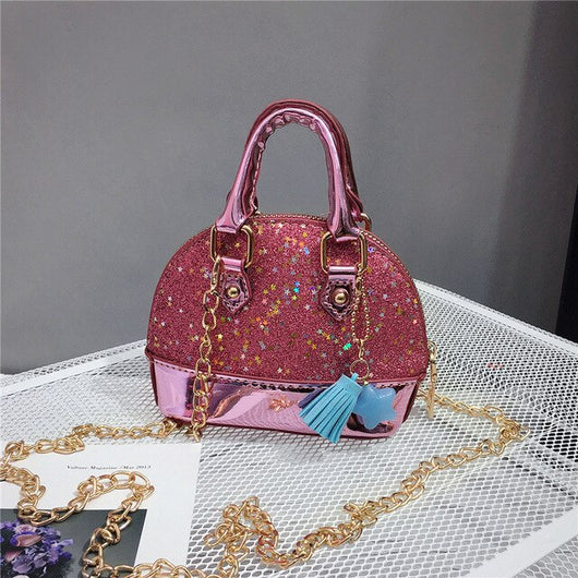 Fashion Children's Mini Purses and Handbags 2020 Cute Leather Crossbody Bags for Kids Girls Princess Party Hand Bags Gift