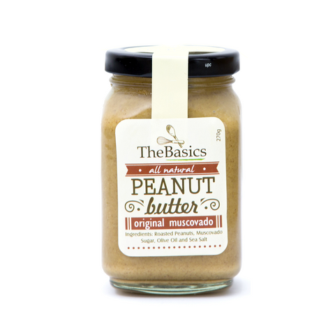 All-Natural Muscovado Peanut Butter