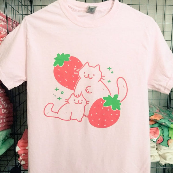 PREORDER Strawberry Cat Shirt