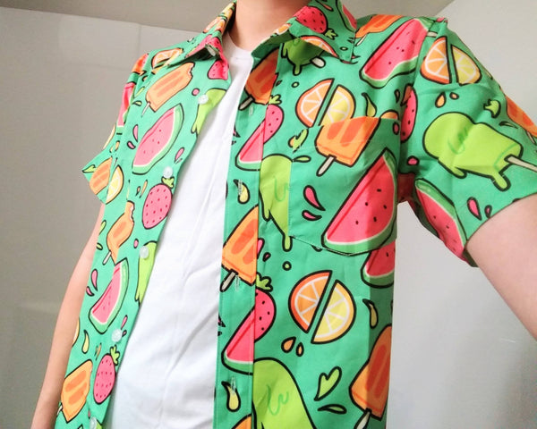 PREORDER Ice Pop Button Up Shirt