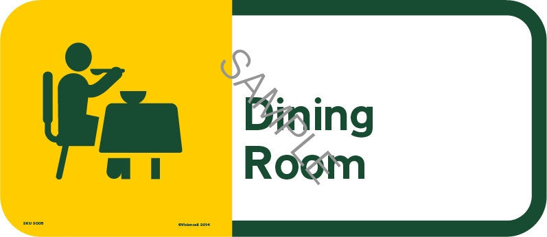 dining room – visioncall signage