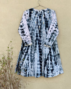 Smoke & Mirrors Tie Dyed Frock