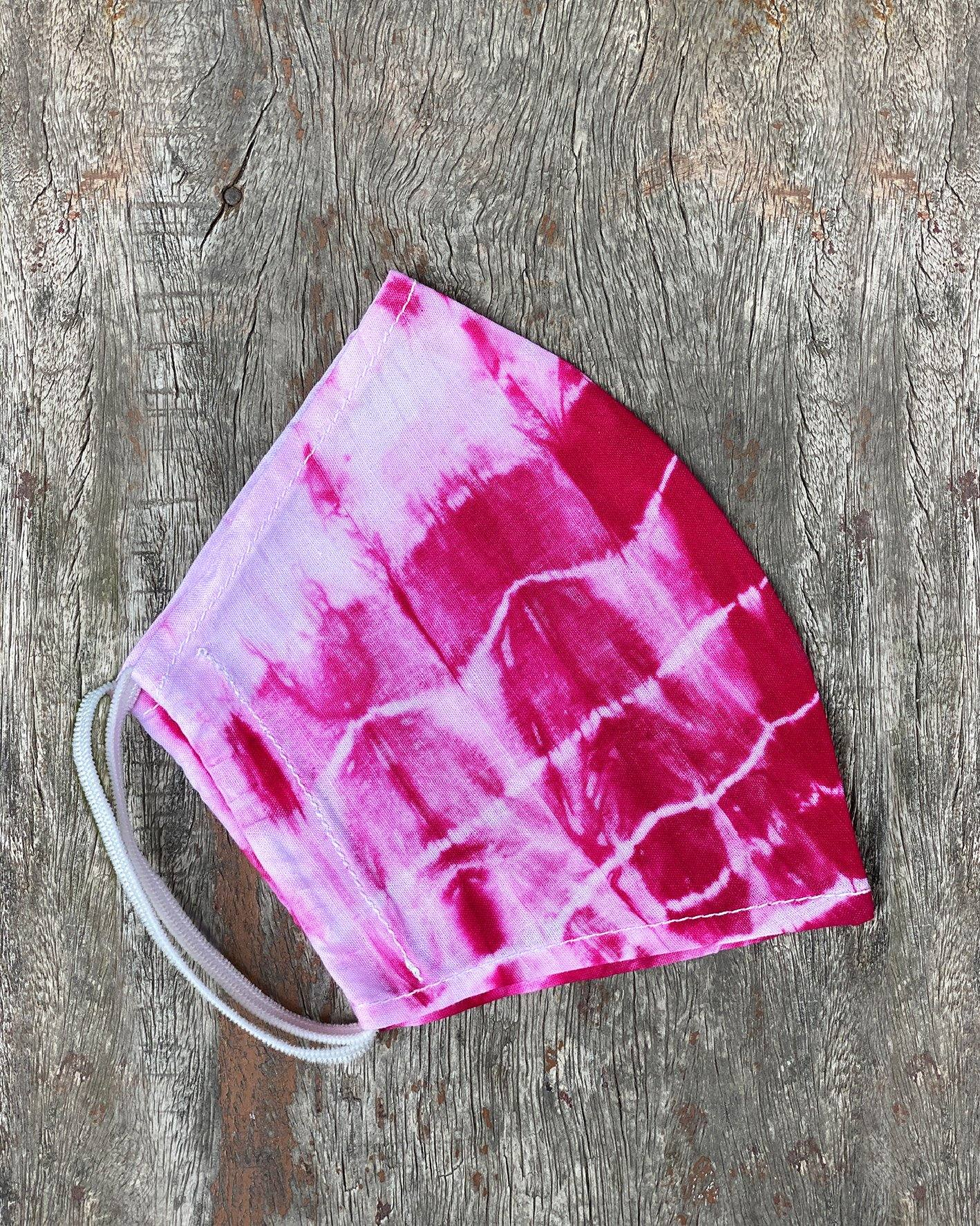 Pink Tie Dyed Face