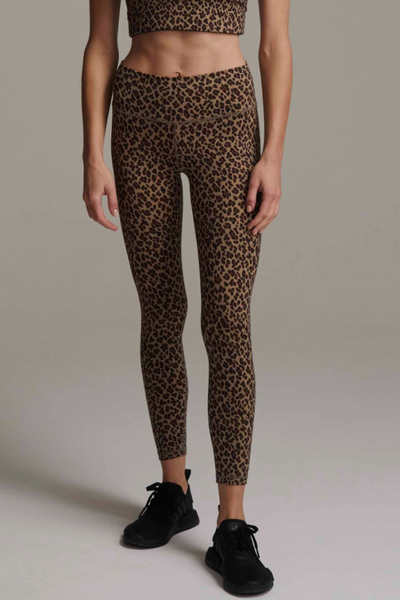 Varley Century Legging - Coffee Cheetah