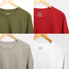 SOLID PACKS URBAN COMBO - 4 TSHIRTS PACK | ORIW