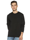 LYCRA SWEAT SHIRTS - JET BLACK