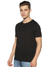 RuGD CREW NECK HEAVY WEIGHT TEE - JET BLACK