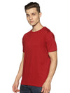 URBAN CREW NECK PLAIN TSHIRT- BLOOD SCARLET