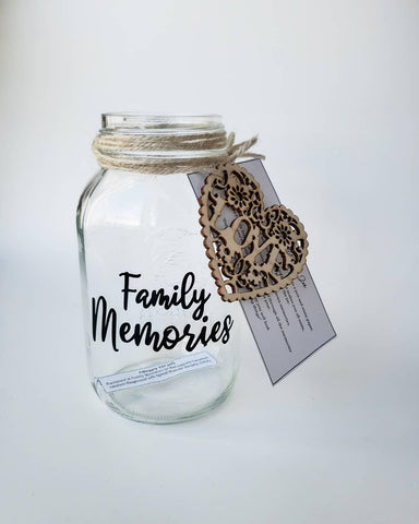 Family Memories Jar