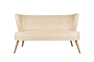 Bienville Loveseat, Cream