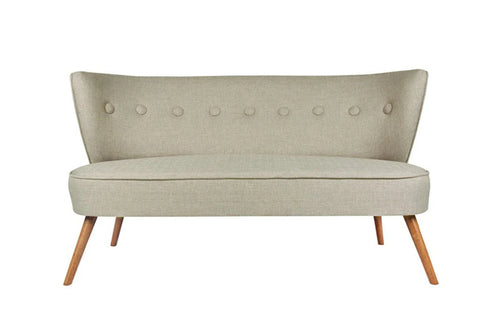 Bienville Loveseat, Grey