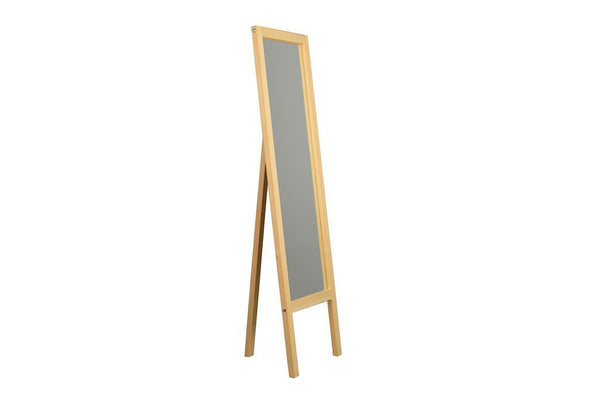 Easel Mirror, Oak
