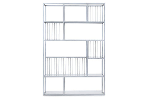 Lola Chrome Bookcase
