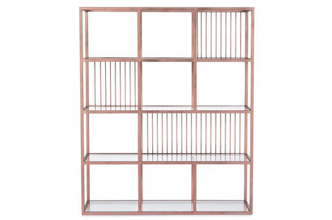 Lola Rose Gold Bookcase