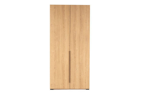 Luke 2 Door Wardrobe, Oak
