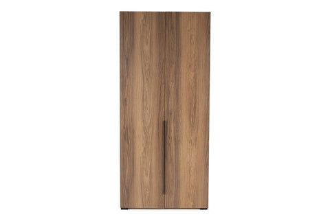 Luke 2 Door Wardrobe, Walnut