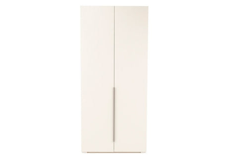 Luke 2 Door Wardrobe, White