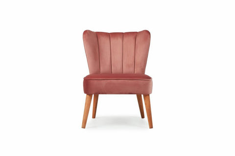 Mango Armchair, Dusty Rose