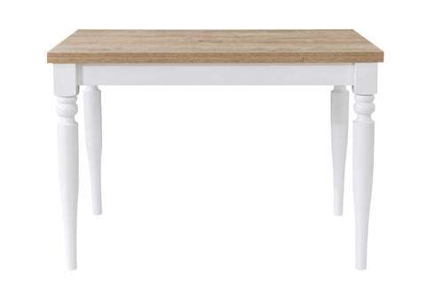 Sophia Large Extending Dining Table, White