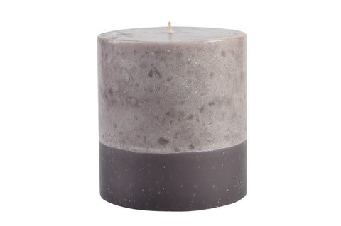 Stone Collection Mocha Scented Candle