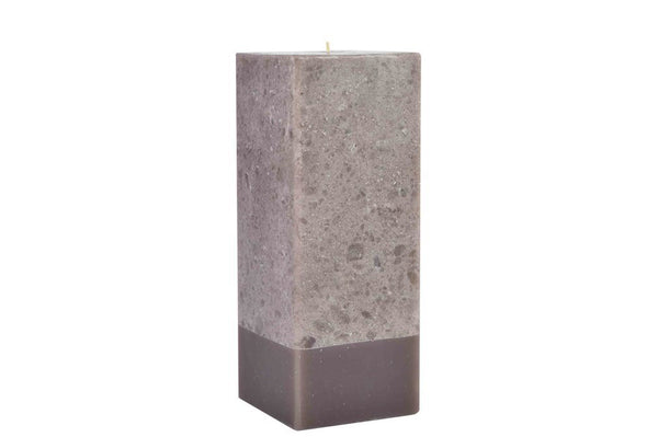 Stone Collection Square Mocha Scented Candle