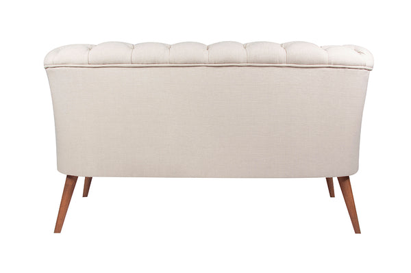 West Monroe Loveseat, Ecru