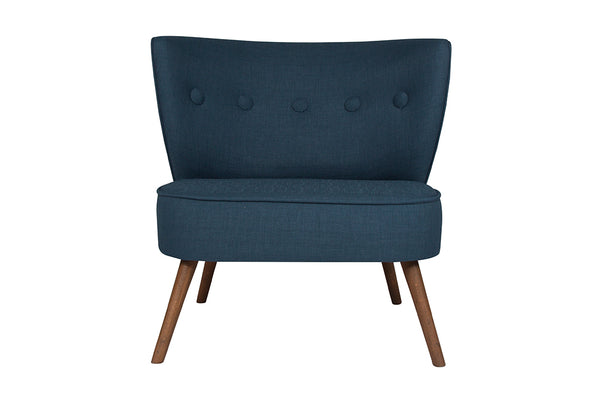 Bienville Armchair, Night Blue