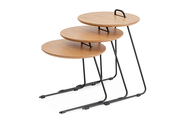 Metis Three Piece Side Table Set
