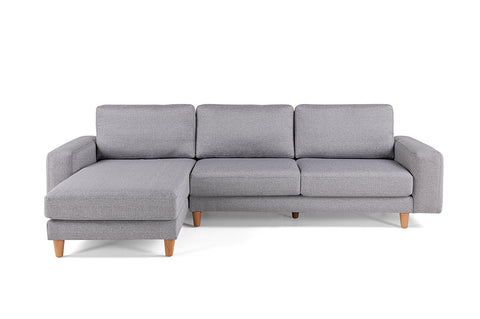 Merlin Corner Sofa, Grey