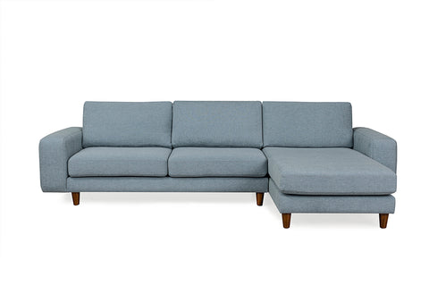 Merlin Corner Sofa, Blue