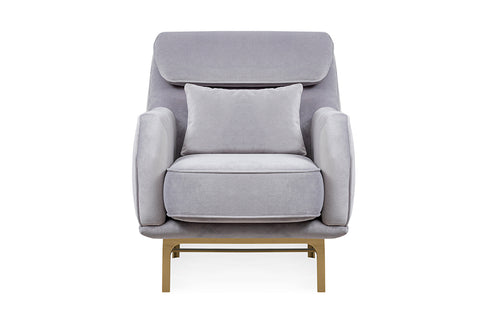 Nepal Armchair, Grey