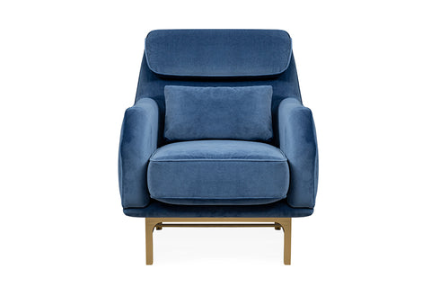 Nepal Armchair, Dark Blue