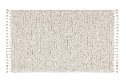 Marrakesh Shaggy Rug, White