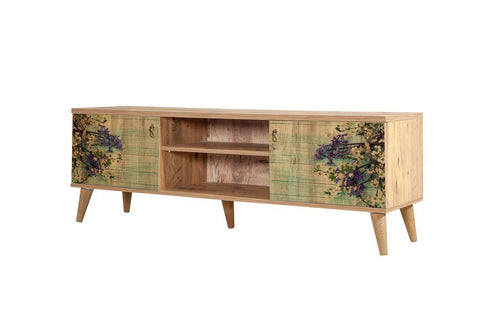 Motto TV Unit, Forest Green