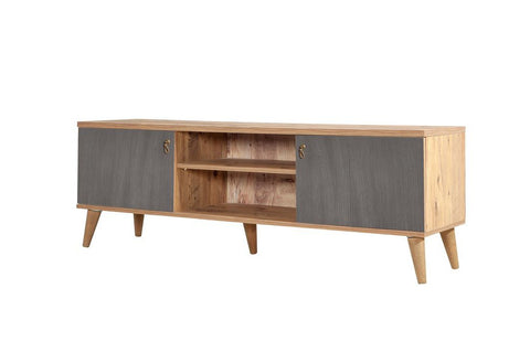 Motto TV Unit, Grey