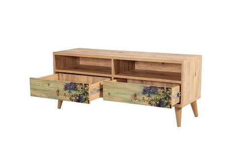 Motto Twin Media Unit, Forest Green